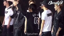 [ENG SUBS] 160305 EXOluxion Dalian Ending Ment ft Members Singing