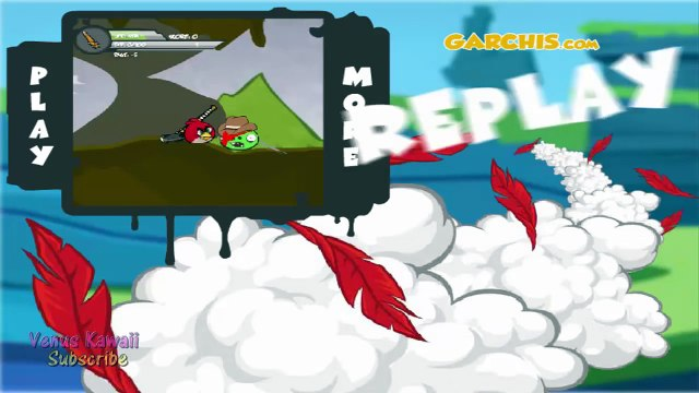 ANGRY BIRDS: Angry Birds Go! [Red Bird] Racing Game Levels 1-3 - Angry Birds Games