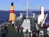 Unsere Fahrt von Svolvær, auf den Lofoten nach Fauske und weiter nach Mosjøen (24. + 25.08.2002)