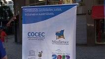 Banners na Boca Maldita - Boca Maldita, Semana Nacional pela Cidadania e Solidariedade   M2U02088