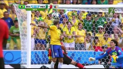 Mexico vs Brasil 0-0 Mundial Brasil 2014 TV AZTECA HD - Resumen