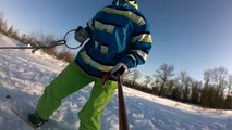 Ride on the field (Snowboarding)