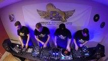 DJ K-MORE - DJ MAST - DJULIO - CADILLAC - 4 DJ LIVE MIXE & SCRATCH @ DJ SCHOOL METZ