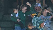 A Supercut Of The Greatest Foul Ball Catches By Baseball Fans