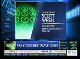 Wells Fargo 16 04 13  Scott Wren sees stocks going higher
