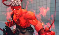 Ultra Street Fighter IV battle: Evil Ryu vs Evil Ryu