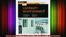 Read  Basics Interior Architecture 02 Context  Environment  Full EBook