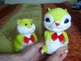 Dancing Hamster - Hampton mini Hamster. (regular and Hampsterdance cartoon version!)