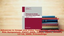 PDF  Advances in Image and Video Technology Third Pacific Rim Symposium PSIVT 2009 Tokyo Japan  Read Online