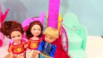 Frozen CARNIVAL PART 2 Barbie Twirl N Spin Ride Kristoff & Anna Parody Toy Dolls AllToyCollector
