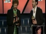 FRANCAIS KISS Sacha baron cohen/Will Farrel MTV VIDEO AWARDS