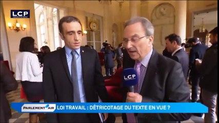 Interview LCP du 6 avril 2015 concernant la loi travail