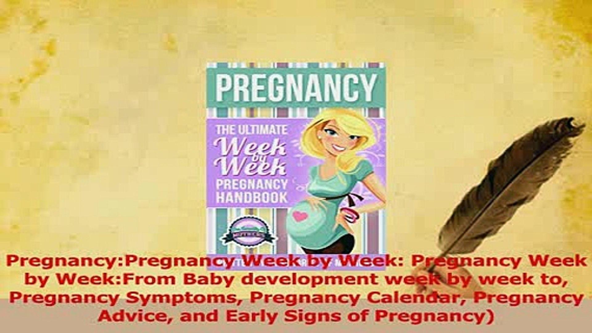 Read PregnancyPregnancy Week by Week Pregnancy Week by WeekFrom Baby  development week by Ebook Free