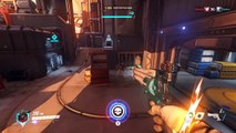 Gameplay Highlights McCree - Overwatch Closed Beta - Fan that Hamma'