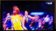 """Kobe Bryant, le dernier panier en cours de jeu du Black Mamba en NBA - """"Mamba Out"""" - 13/04/2016"""