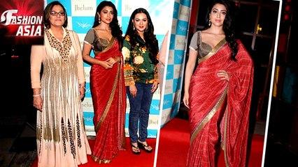 Shriya Saran's Hot Look At Jhelum Fashion Event | Fashion Asia
