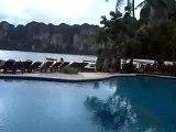 hotel en face de la plage a Rai Lay, Thailande