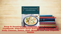 PDF  Soup  Souping The Essential Soup Recipes And Cookbook Delicious Soup And Souping Free Books