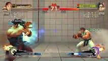 Ultra Street Fighter IV battle: Dnilox1 (Ryu) Vs NEOW_Neo (Hugo)