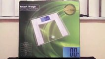 Smart Weigh Contemporary Series Digital Vanity Bathroom Scale DVS400 Unboxing!