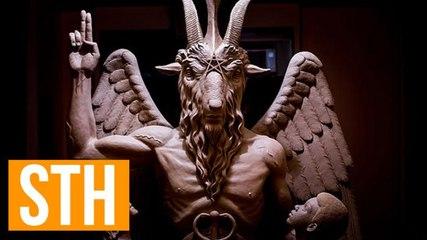 Satanic Temple Unveils Massive Goat-Headed Satan Statue In Detroit