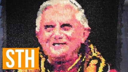 Milwaukee Artist Raises Eyebrows With Condom Portrait Of Pope Benedict