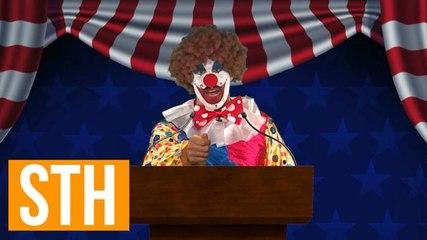 Bubbles The Clown Announces 2016 Republican Presidential Candidacy
