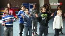 Des écoliers à la découverte des chants traditionnels de la Méditerranée