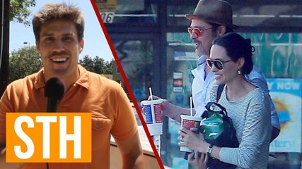 Brad And Angelina Go To Subway, So We Hit The Streets At Ground Zero!