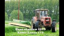 Same Laser 110 gras maaien 2013 - Krone Easy Cut 280