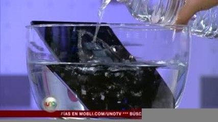 Javier Matuk. Tableta resistente al agua