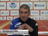 (J34) Laval - Evian, avant-match avec D.Zanko