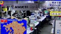 Les images d'un tremblement de terre de magnitude 6 au Japon