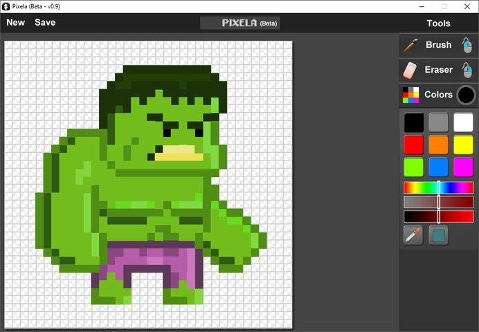 Como crear pixel art Sprites fácil - PIXELA + GameMaker