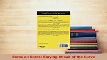 PDF  Soros on Soros Staying Ahead of the Curve PDF Book Free