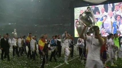 Orvañanos y Marín. ¡Felicidades Real Madrid!
