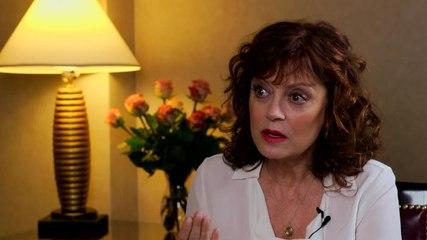 Susan Sarandon discusses aging