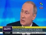 Putin reafirma que la paz en Siria sólo se logrará por la vía política