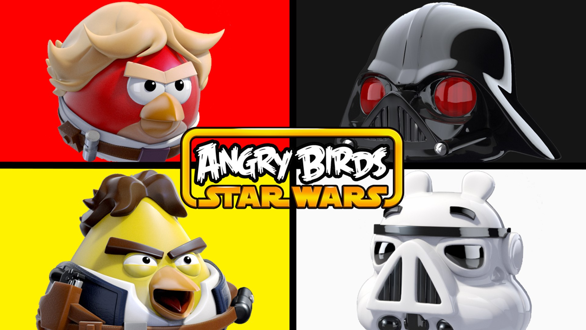 Angry Birds Star Wars Matching Learning Colors Video Dailymotion
