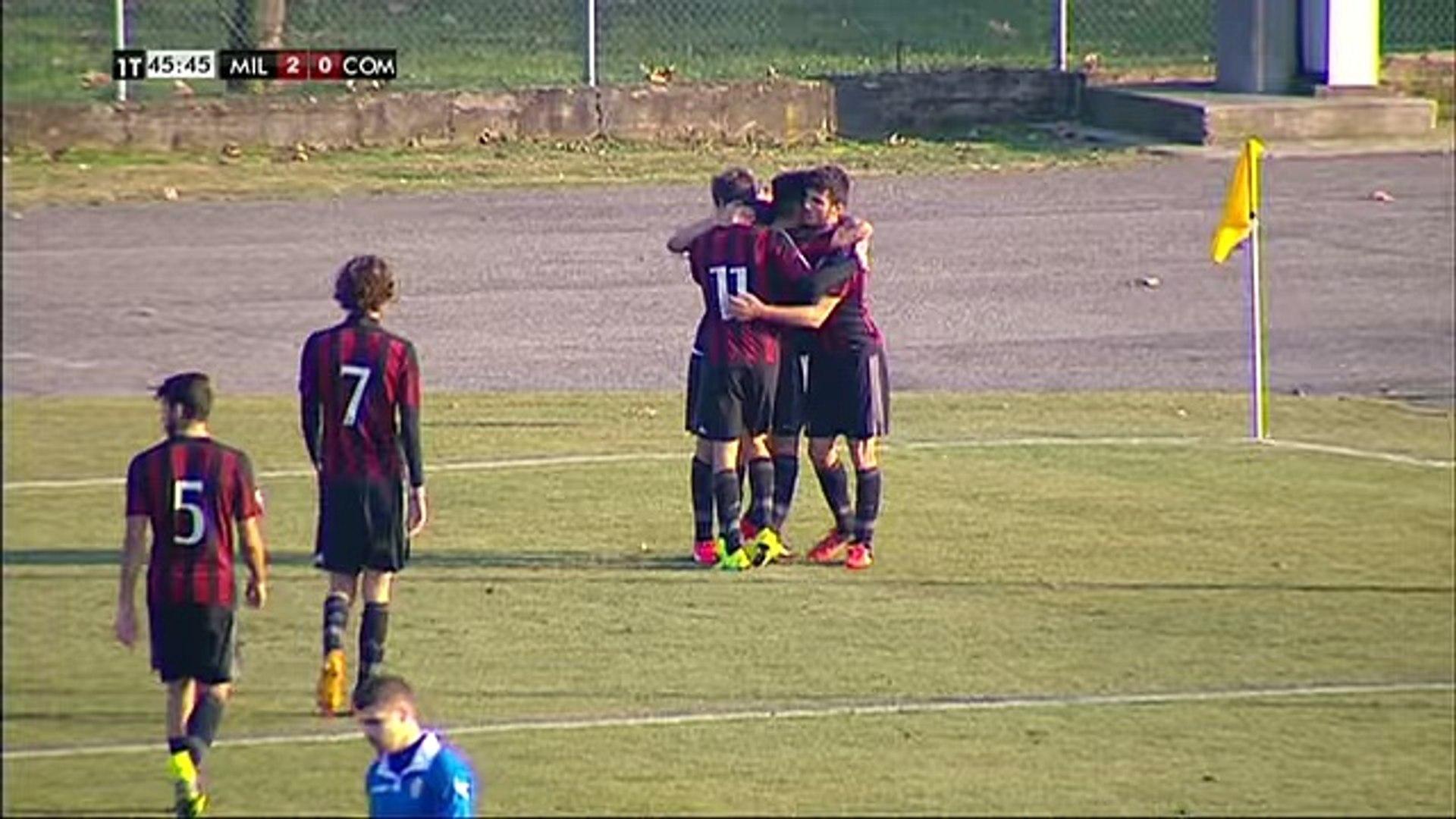 AC Milan Como 4-1 - AC Milan Youth