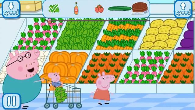 Peppa Pig Supermarket APP Gameplay
