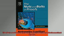 READ book  The Nuts and Bolts of Proofs An Introduction to Mathematical Proofs  FREE BOOOK ONLINE