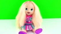 Baby Alive Oyuncak Bebek Renkli Boncuklu Saç Örgü Tasarımı