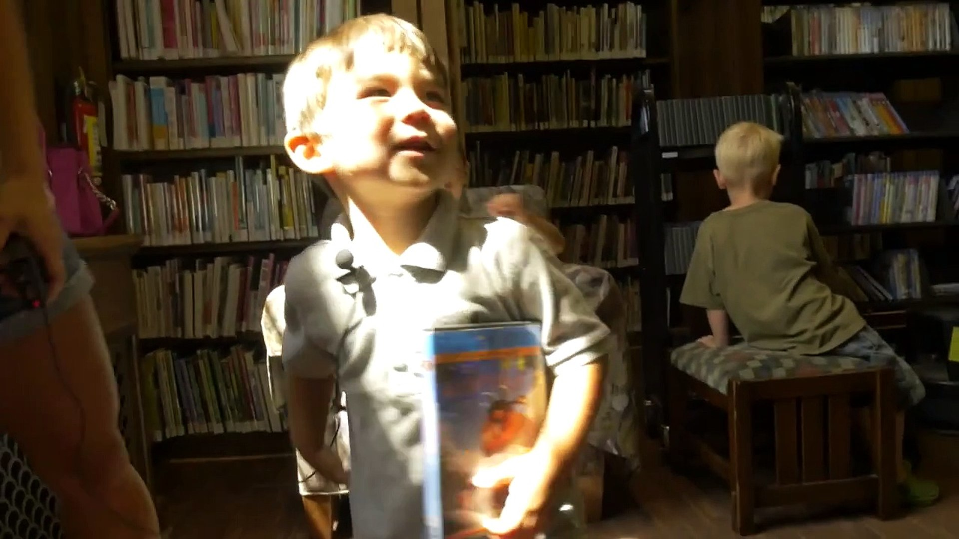 It's My Library: The Helms Family @ Washington Square Branch Library