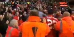 Liverpool 4 - 3 Dortmund - Dejan Lovren Goal - 14-04-2016
