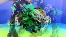 Transformers Robots In Disguise Stomp & Chomp Grimlock Optimus Prime Heatwave Battle Mars Robots