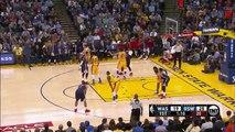 Steph Curry Dunks On Garrett Temple (Fastbreak) | Wizards vs Warriors | March 29, 2016 | NBA 2015-16