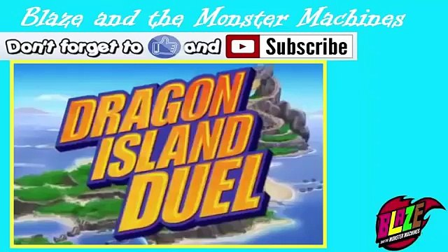 Blaze And The Monster Machines 2015,Animation Monster Machines,Dragon Island Duel