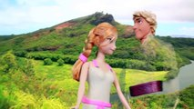 Princess Anna WEDDING to Kristoff PLAY-DOH Dress Disney Frozen Sven Hawaii