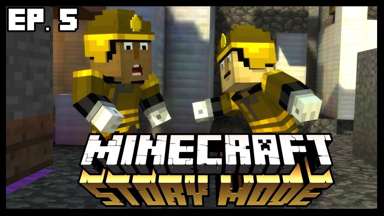 The Secret Build Team Minecraft Story Mode Ep 5 Part 2